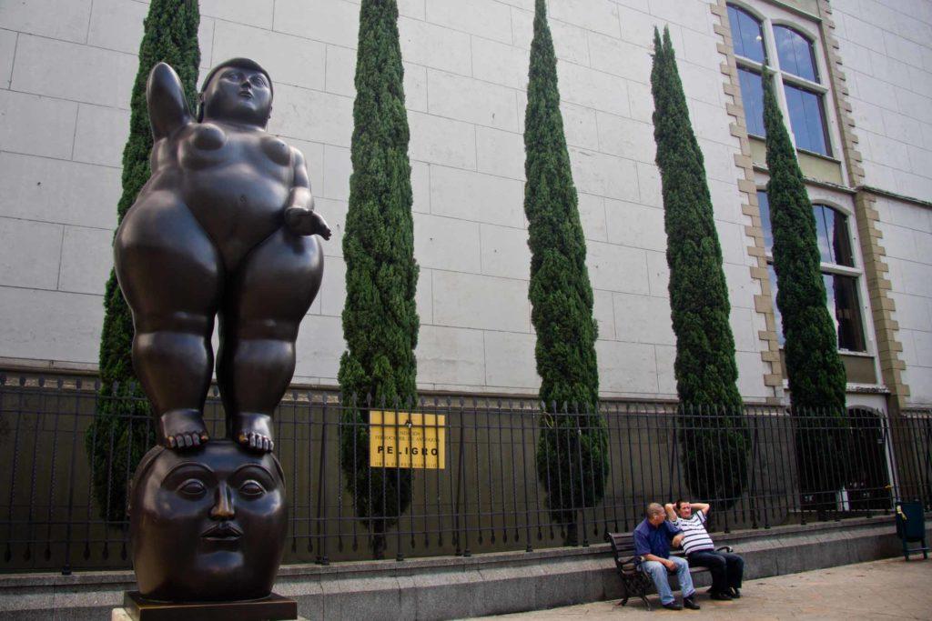 Botero museum in Bogota Colombia