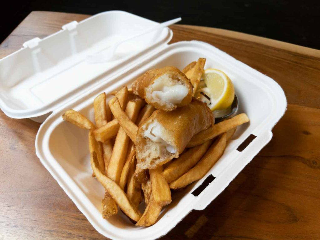 North Market Seafood fish and chips