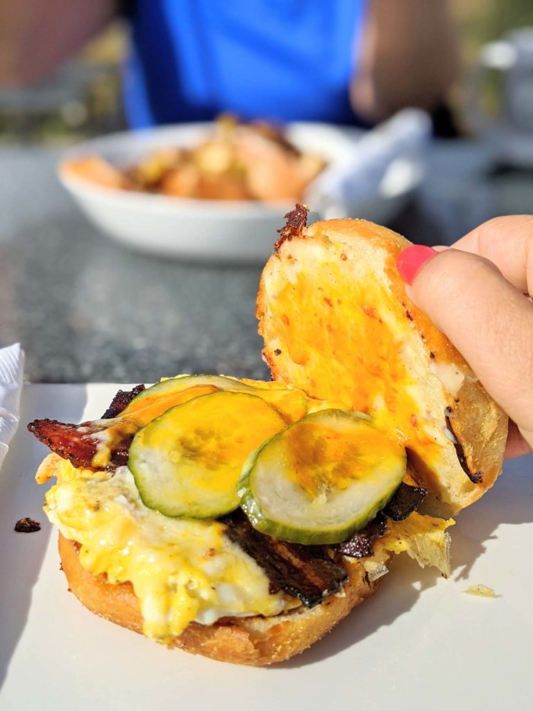 Receiver Coffee Charlottetown Breakfast Sandwich