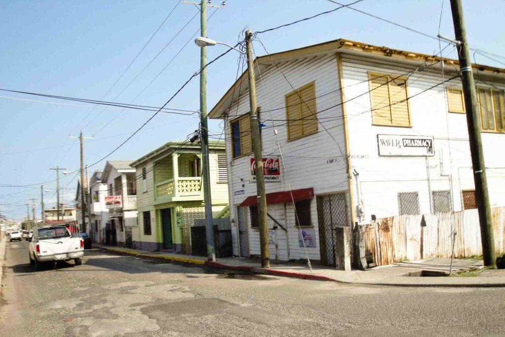 Belize City street