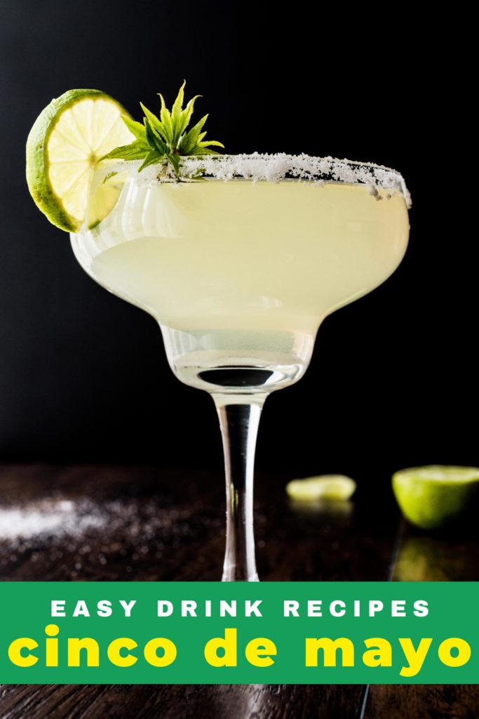 Classic Margarita Cocktail With Lime And Salt.