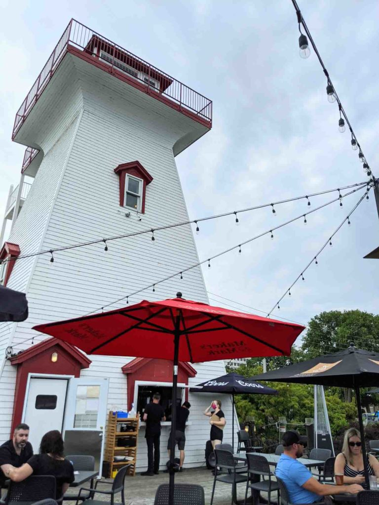 Lighthouse by 540 in Fredericton New Brunswick, exterior